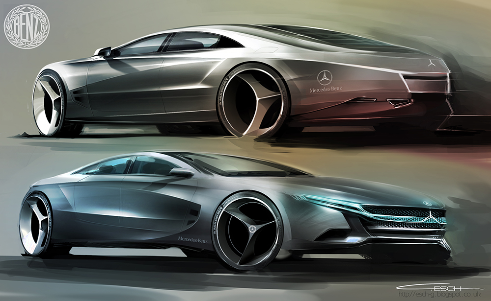 Mercedes Benz CLS Concept by G-ESCH