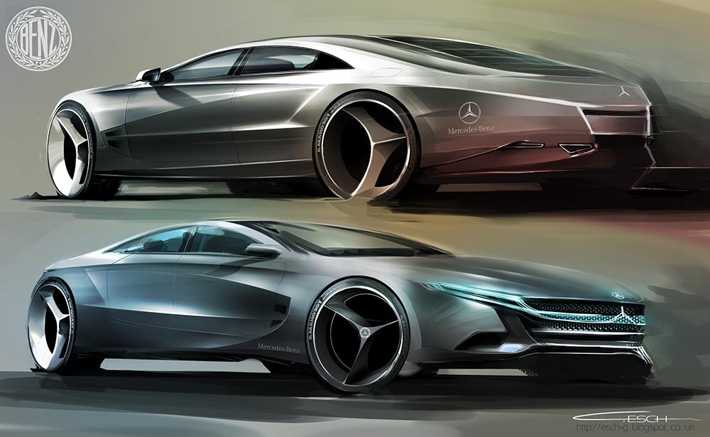 Mercedes Benz CLS Concept by G-ESCH