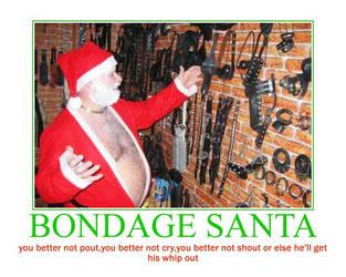 Bondage santa by Xyga