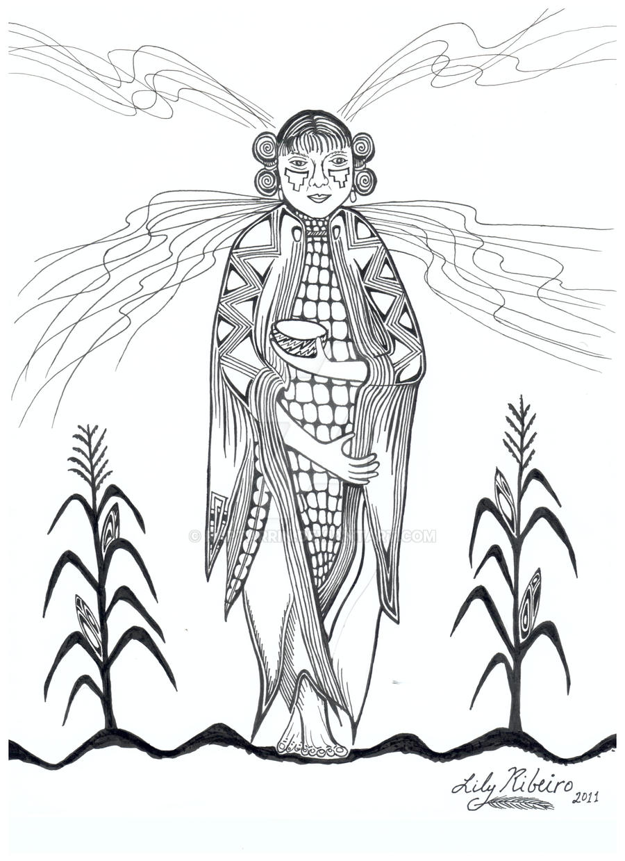 kanza tribe coloring pages - photo#44