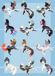 Canine batch #45 AUCTION [CLOSED]