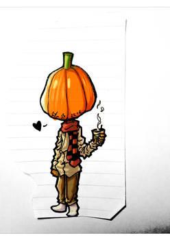 The Pumpkin-Head Man