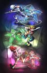 The Destiny Island Trio Stars (Kingdom Hearts)