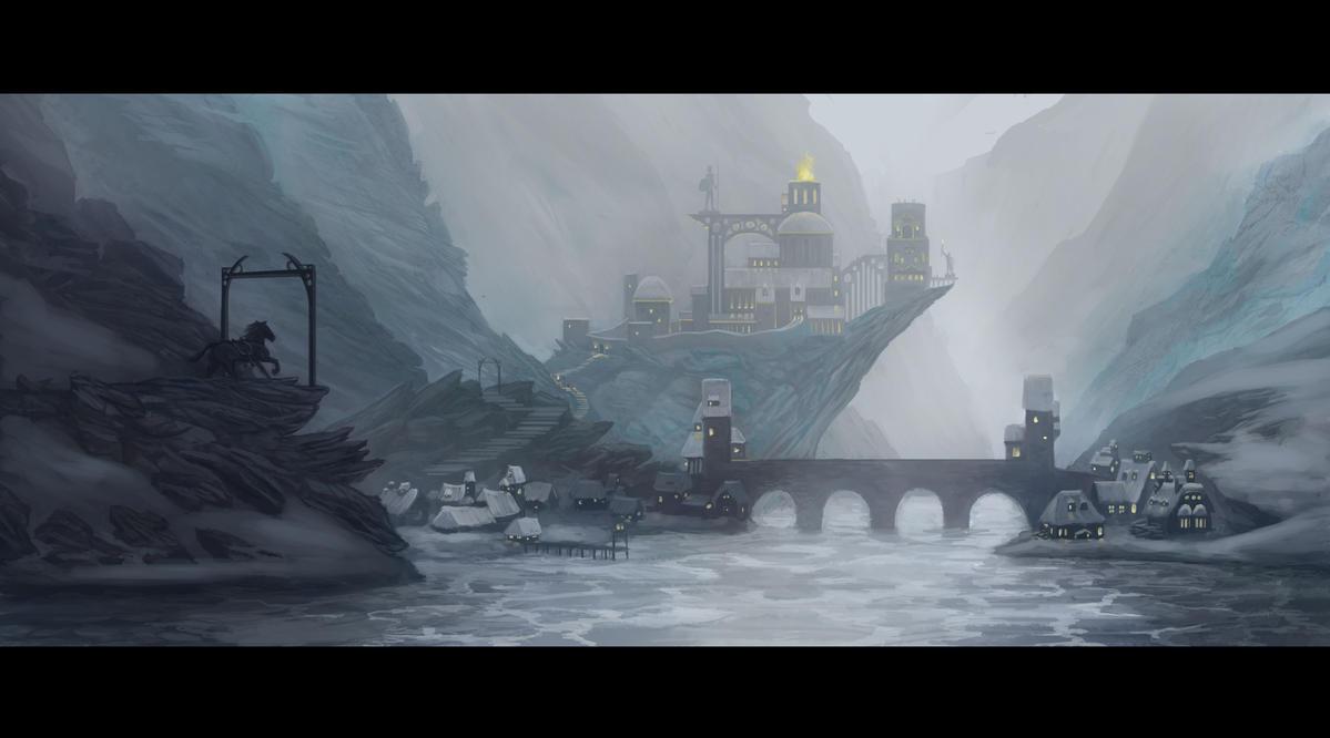 Winter Dale by Fleret