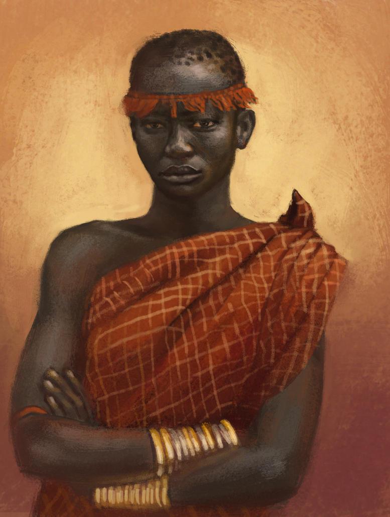 african by Fleret