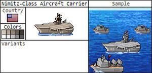 Nimitiz-Class Aircraft Carrier