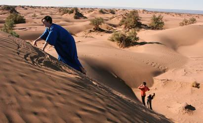 Sea of sand by LavaandMagma