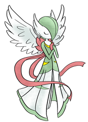 Mega Gardevoir by Digital-Banshee