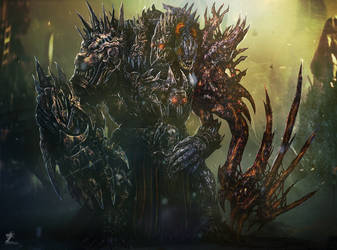 King Braka by mzrkart