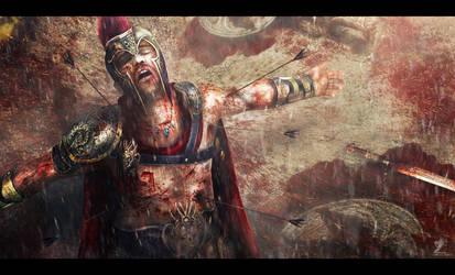 Fallen Hero by mzrkart