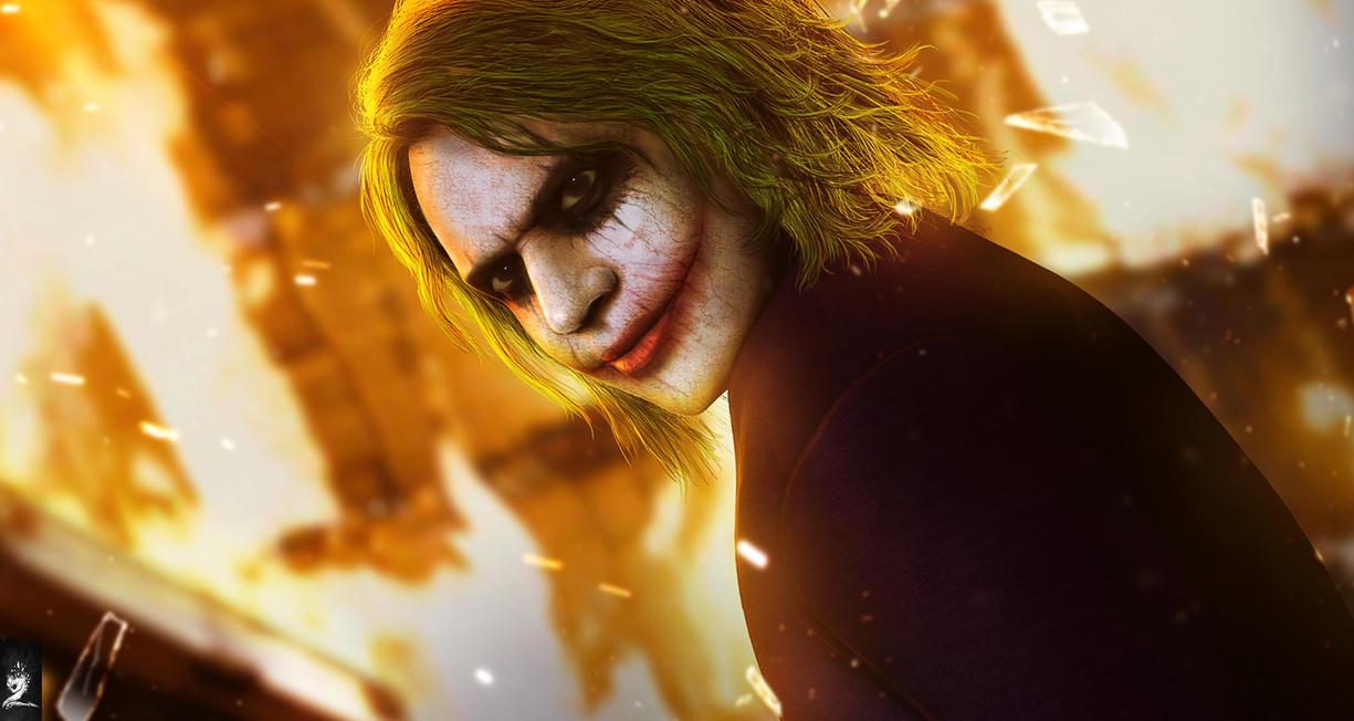 Joker by mzrkart