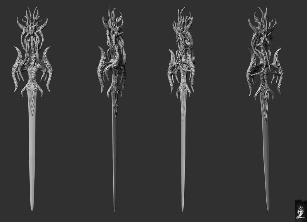Munash Sword by mzrkart