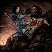 The Alice Madness by vempirick