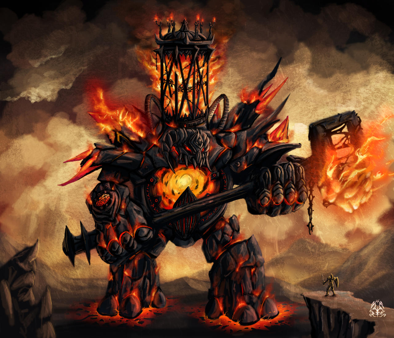 Ignis, Fire colossus