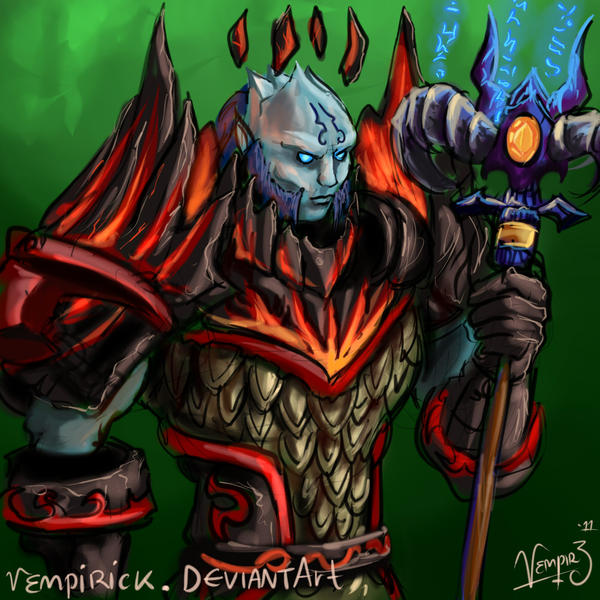 Avatares by Infernum Draenei_chaman_sketch_by_vempirick-d4h4kdo