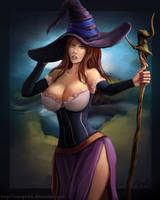 The Sorceress by vempirick