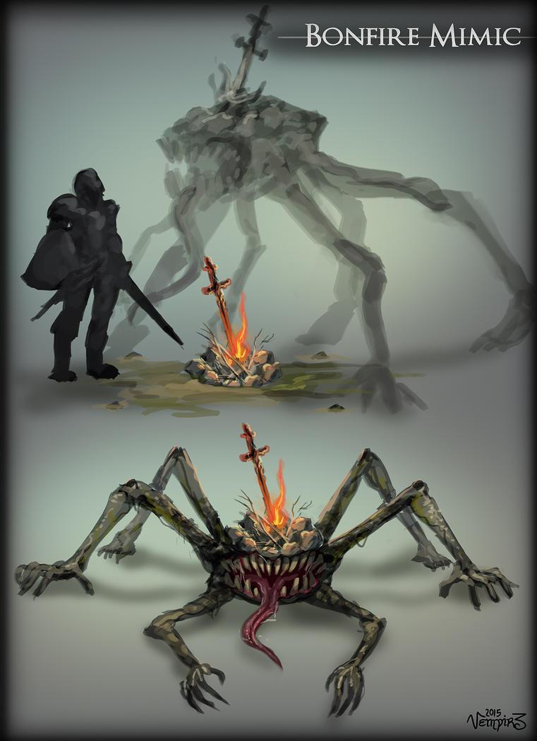 Bonfire mimic