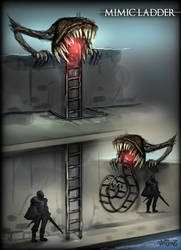 Mimic Ladder by vempirick