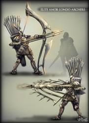 Anor Londo Elite Dragonslayers by vempirick