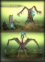 Corpse Mimic by vempirick