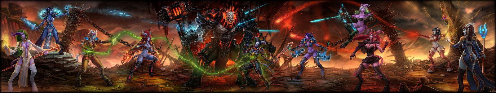 Blackhand Raid by vempirick