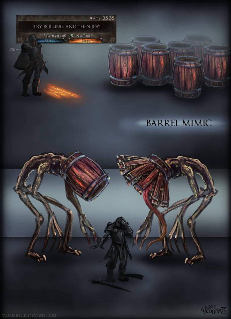 Barrel Mimic By Vempirick