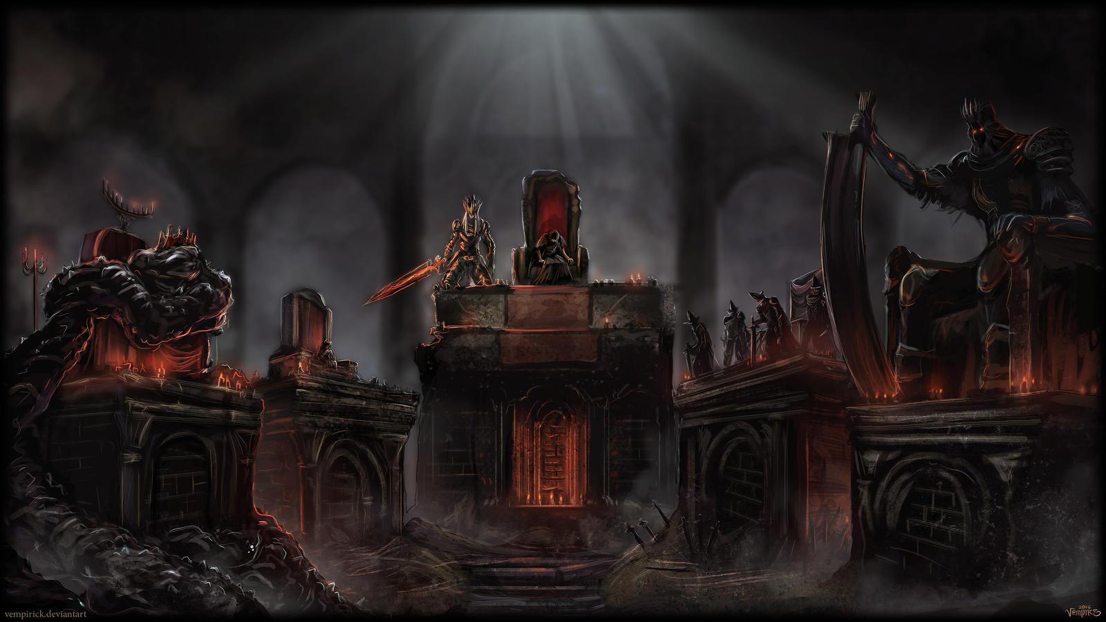 Soul Of Cinder Fan Art: The Lords Of Cinder, V2 By Vempirick On DeviantArt