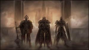 I am Vendrick, Ruler of Drangleic