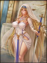 Sword Maiden by vempirick