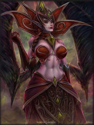 Bloodqueen Lana'thel by vempirick