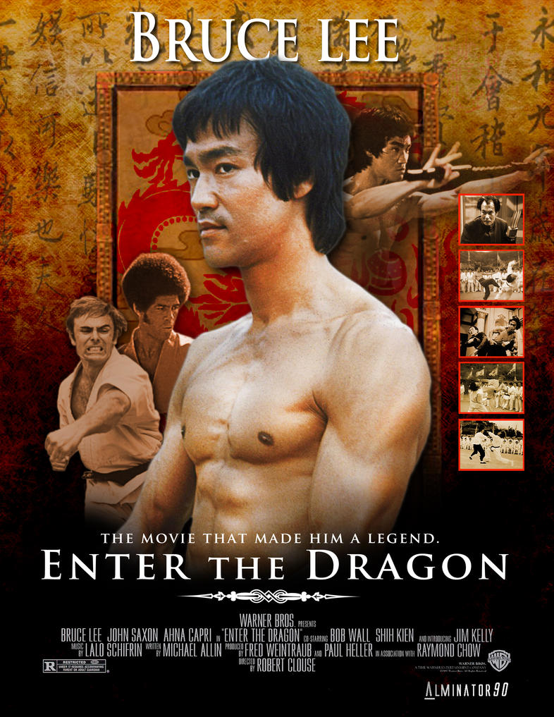 Bruce Lee Wallpaper Enter The Dragon Bruce lee-enter the dragon by