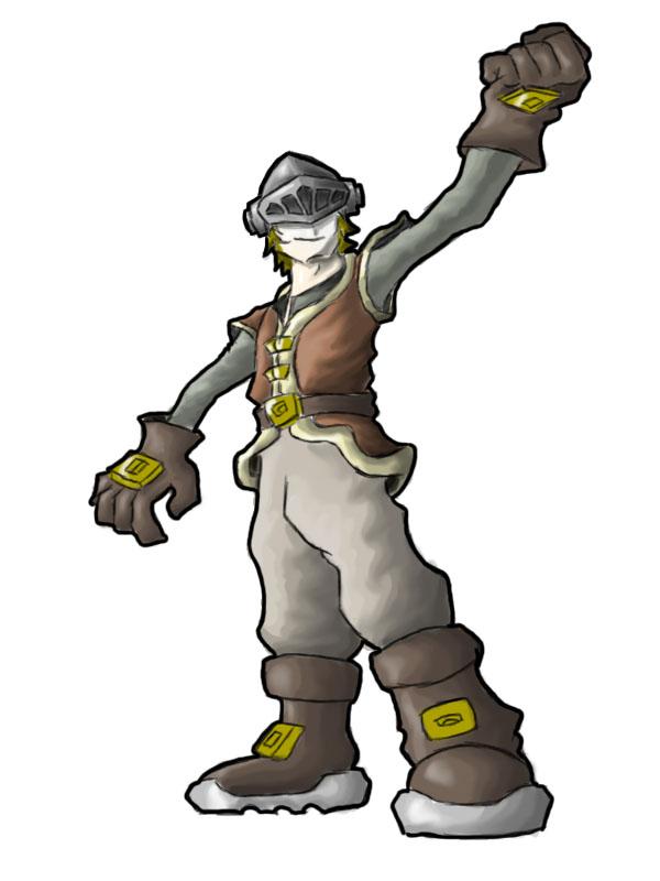 Vexillo the Hero by Megatonter