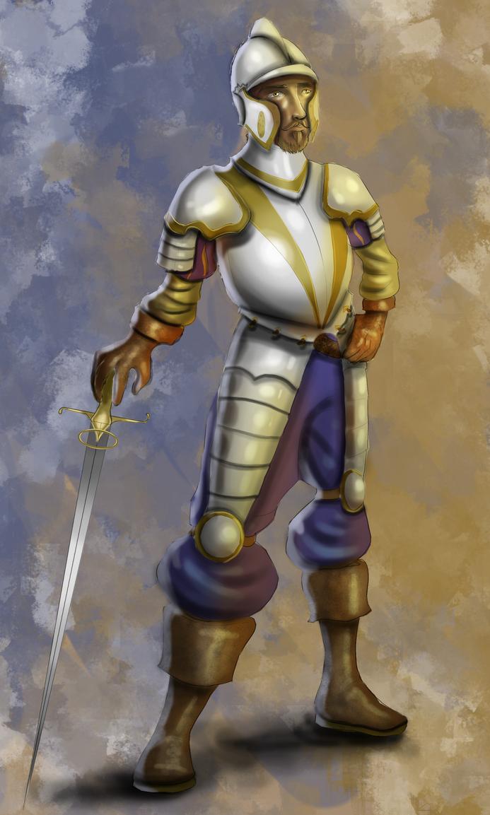 Renaissance Soldier by Megatonter