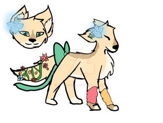 canine adopt 1 (OPEN set price)