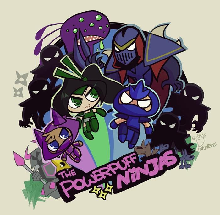 Ninja! by inkinesss