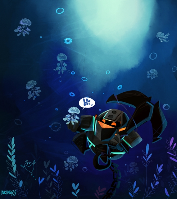 Nautilus by inkinesss