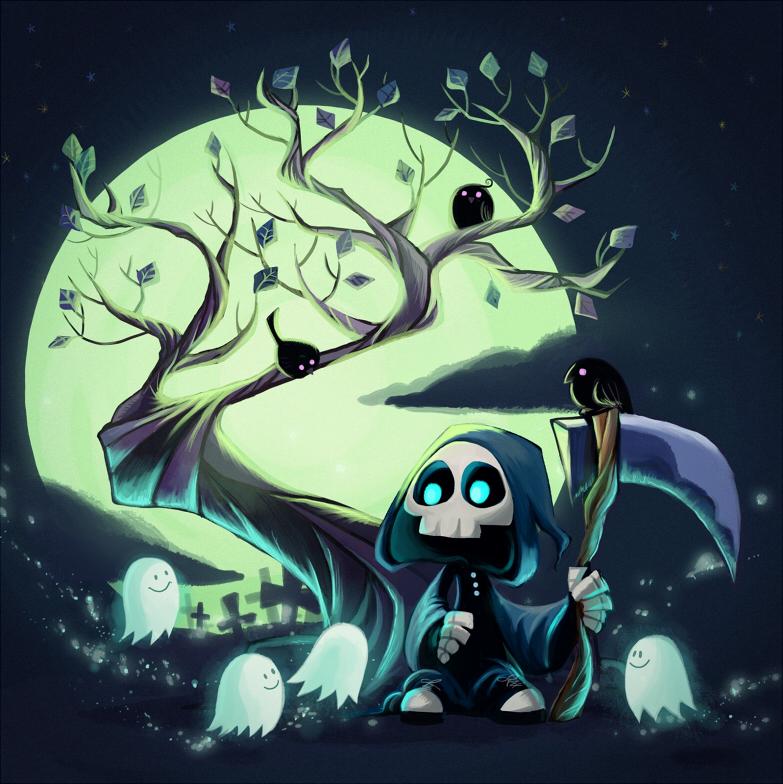 Little Reaper by inkinesss