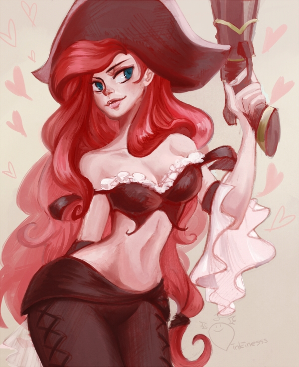 Miss Fortune by inkinesss