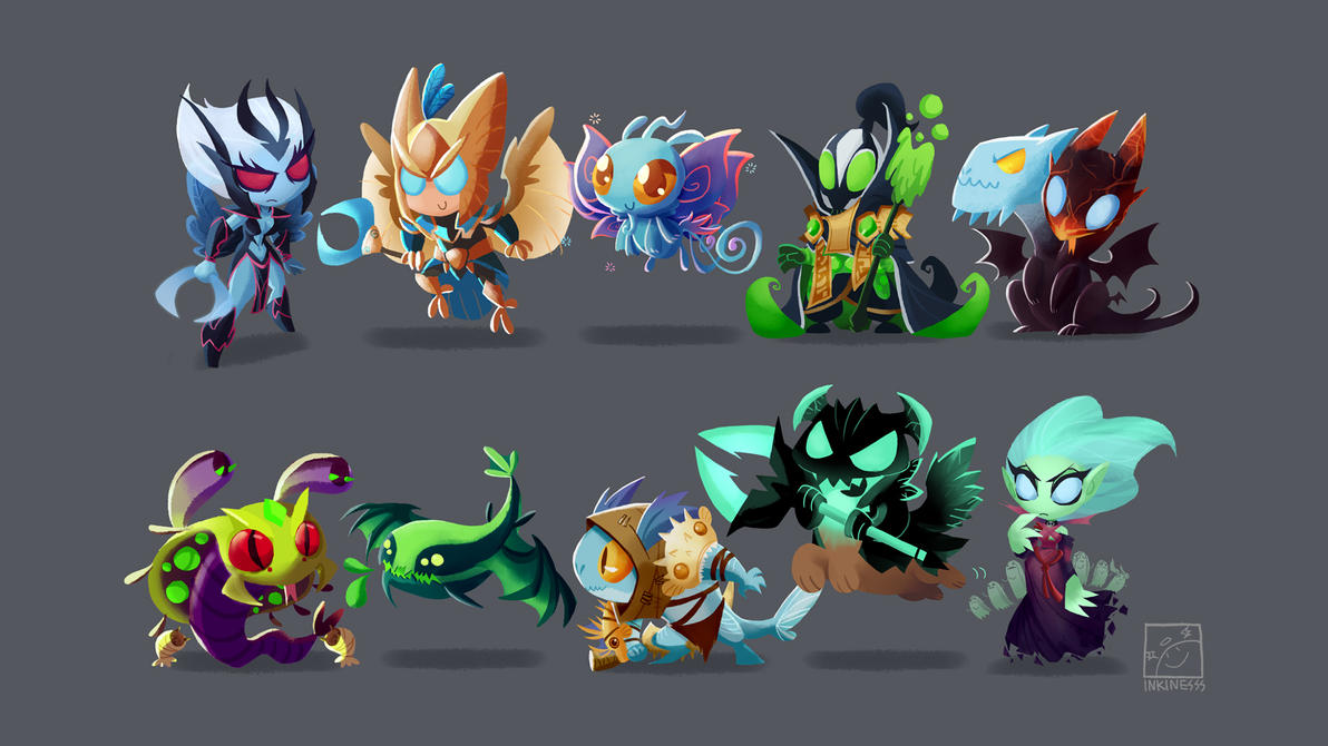 dota 2 by inkinesss on deviantart