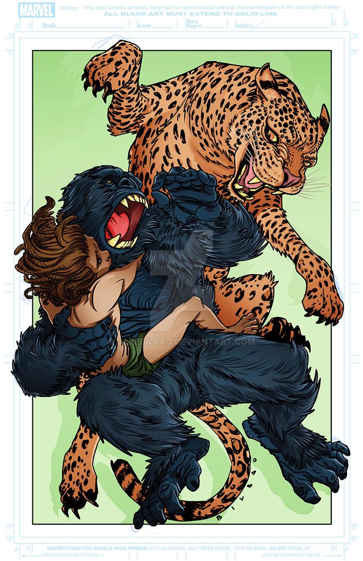 JakeBilbao Tarzan by jakebilbao