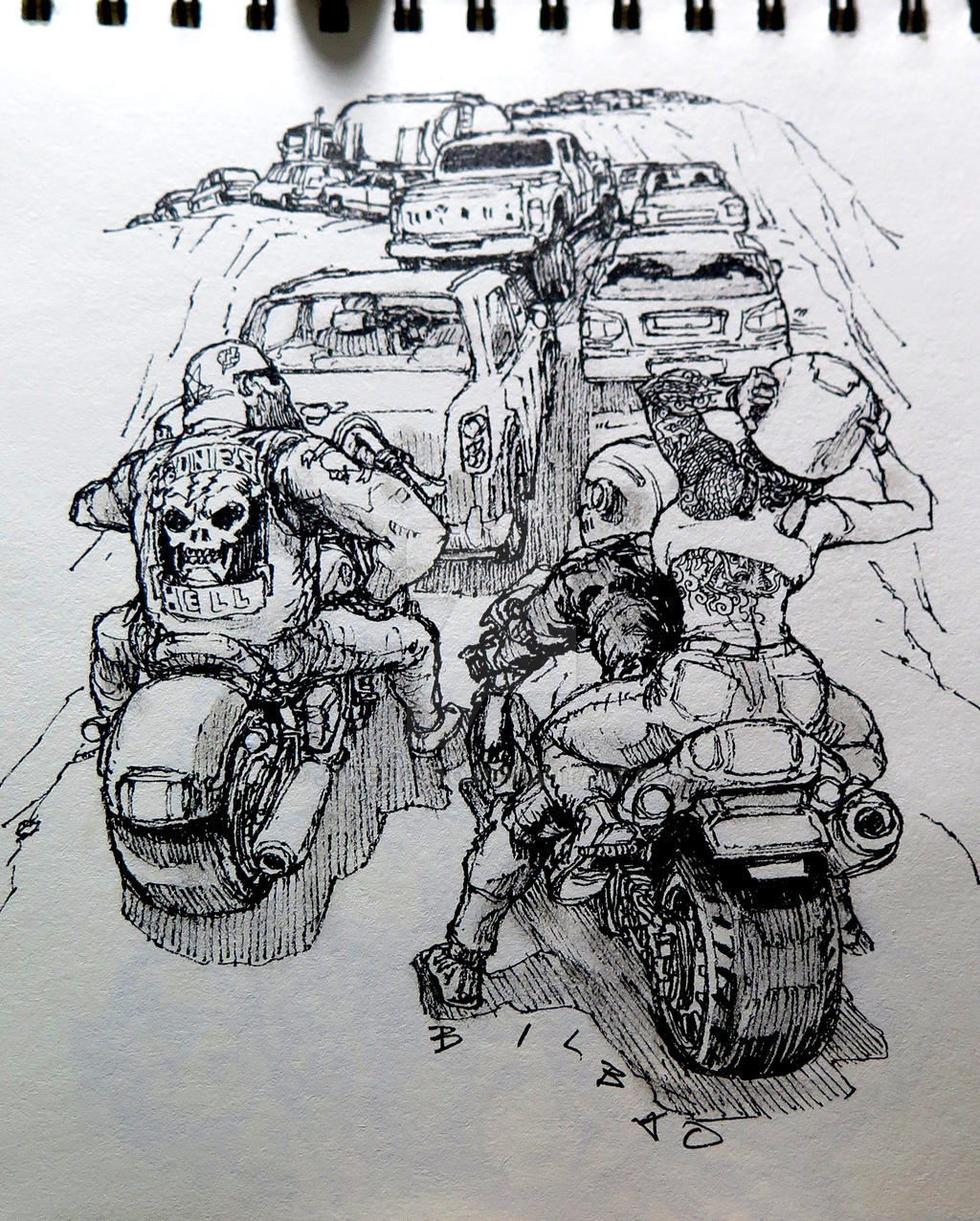 Sketch when bored by jakebilbao