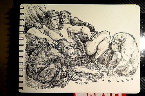 Tarzan Sketch Reward by jakebilbao