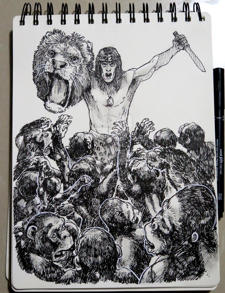Tarzan of the Apes by jakebilbao