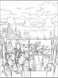 Pencils from White Indian Book 3 by jakebilbao