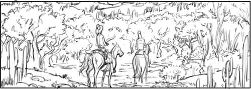 White Indian Book 3 Panel by jakebilbao