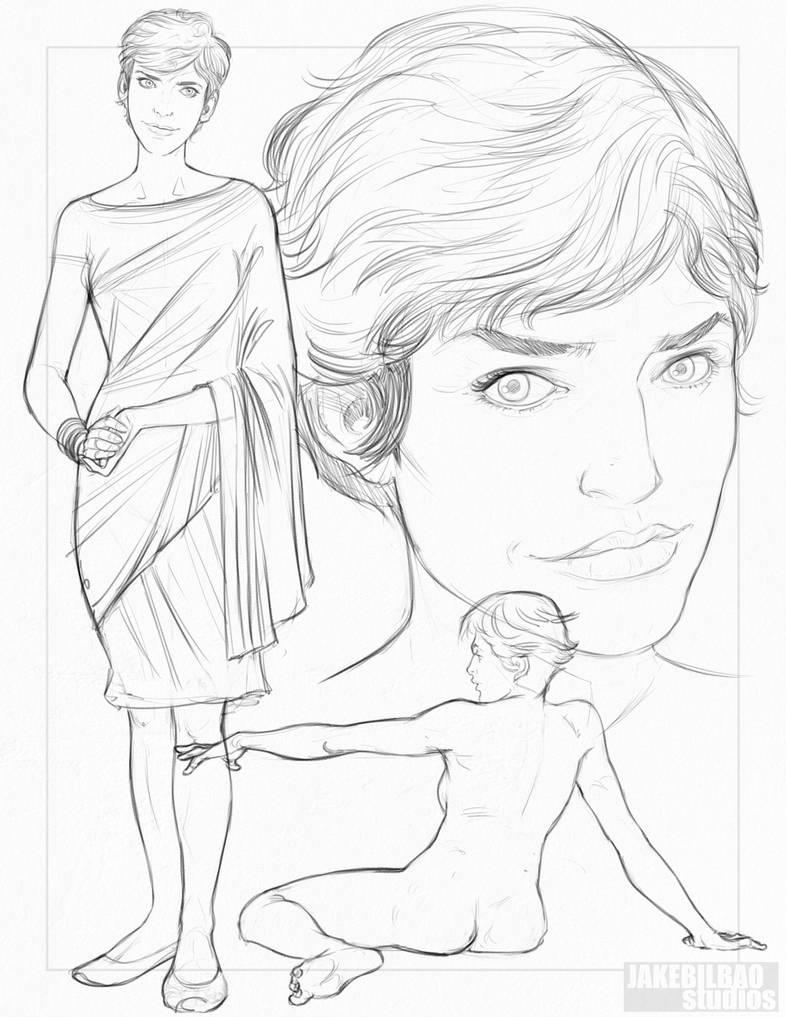 Devanandra Character Design by jakebilbao