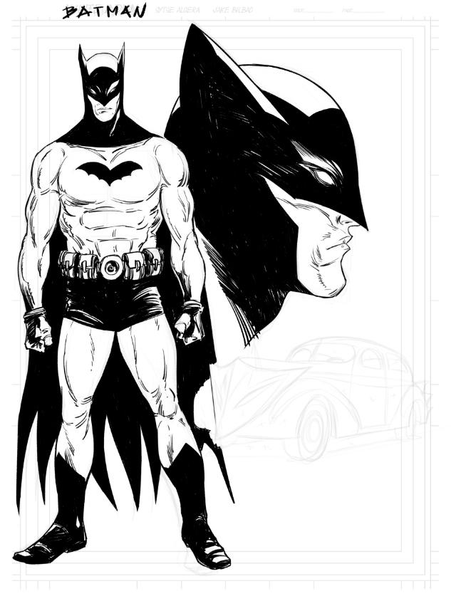 Batman WIP by jakebilbao