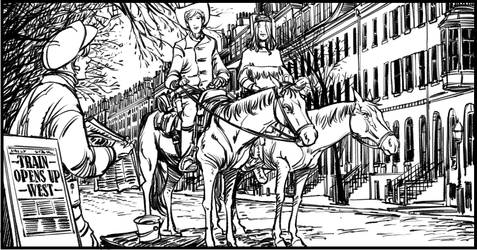 White Indian Panel Book 3 by jakebilbao