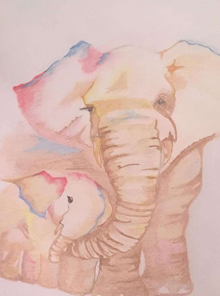 elephants by agnese9