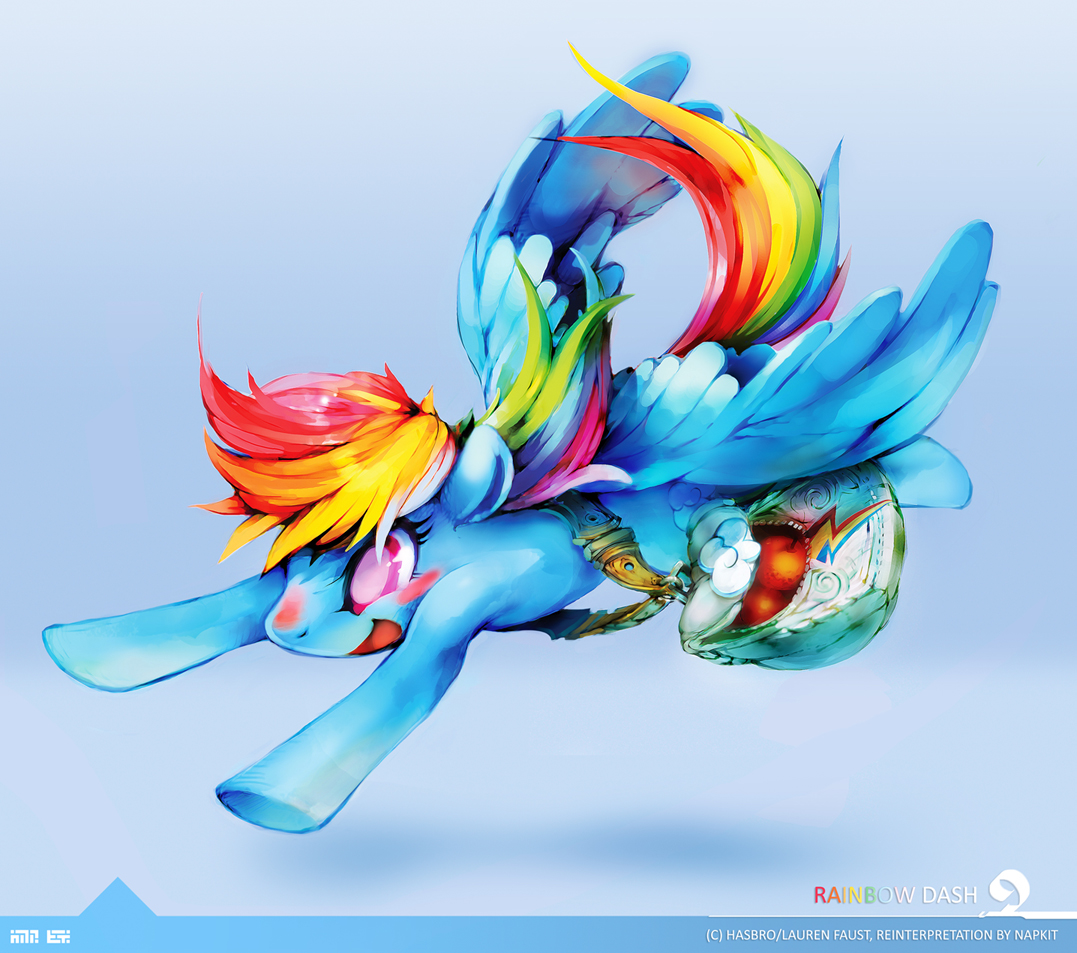 Rainbow Dash Sample by Napkit